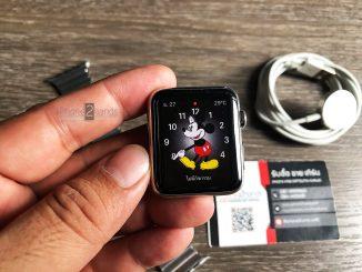 ขาย Apple Watch Series 1 หน้าจอ 42mm สีเงิน ตัวแพง ราคาถูก