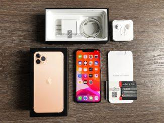 ขาย iPhone 11 Pro Max สีทอง 64gb ศูนย์ไทย ประกัน มีนา 64