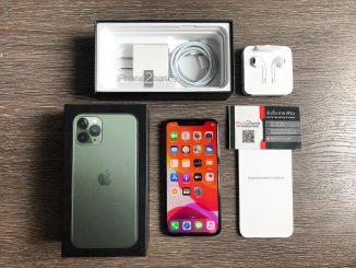 ขาย iPhone 11 Pro สีเขียว 64gb ประกัน 27 สิงหาคม 64 ราคาถูก