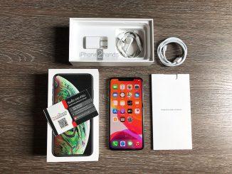 ขาย iPhone XS MAX สีดำ 64gbศูนย์ไทย ครบกล่อง มือสอง ราคาถูก
