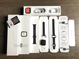 ขาย Apple Watch S4 สีดำ 44MM GPS Celรุ่น TOP มือสอง ราคาถูก