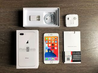 ขาย iPhone 8 Plus สี Silver 64gb ศูนย์ไทย มือสอง ราคาถูก