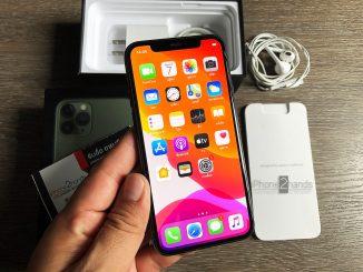 ขาย iPhone 11 Pro สีเขียว 64gb ครบกล่อง ประกันเหลือ ราคาถูก