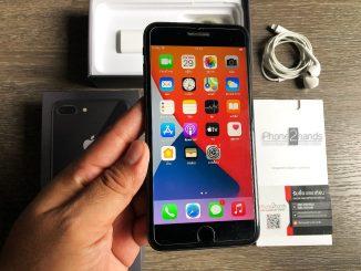 ขาย iPhone 8 Plus สีดำ 64gb ศูนย์ไทย มือสอง ราคาถูก