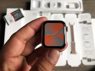 ขาย Apple Watch S4 สีชมพู 40mm GPS มือสอง ราคาถูก