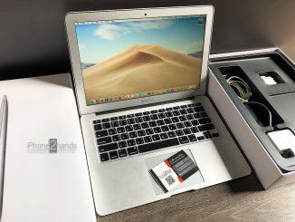 ขาย Macbook Air 13 ปี 2013 256gb ศูนย์ไทย มือสอง ราคาถูก
