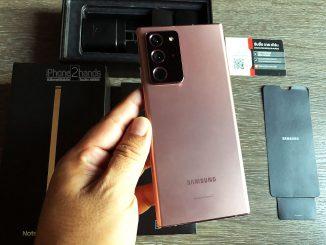 ขาย Note 20 Ultra 5G สี Mystic Bronze 256gb ประกันตุลา 64