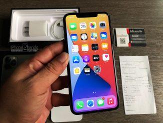 ขาย iPhone 11 Pro Max สีเขียว 256gb ศูนย์ไทย มือสอง พร้อมใบเสร็จ