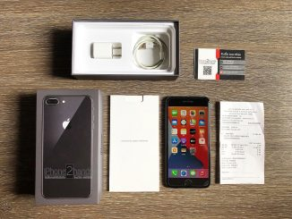 ขาย iPhone 8 Plus สีดำ 64gb ศูนย์ True มือสอง ราคาถูก
