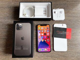 ขาย iPhone 11 Pro สีดำ 256gb ศูนย์ไทย ประกันเหลือ ราคาถูก