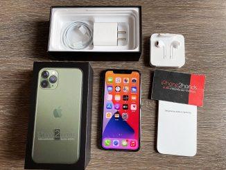 ขาย iPhone 11 Pro สีเขียว 256gb ศูนย์ไทย มือสอง ราคาถูก