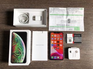 ขาย iPhone XS MAX สีดำ 256gb ศูนย์ไทย สภาพมือ 1 ราคาถูก