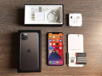 ขาย iPhone 11 Pro MAX สีดำ 256gb ศูนย์ไทย มือสอง ราคาถูก