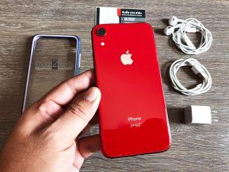 ขาย iPhone XR สีแดง 256gb ศูนย์ไทย มือสอง ราคาถูก