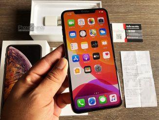 ขาย iPhone XS MAX สีทอง 64gb ศูนย์ True มือสอง ราคาถูก สภาพมือ 1