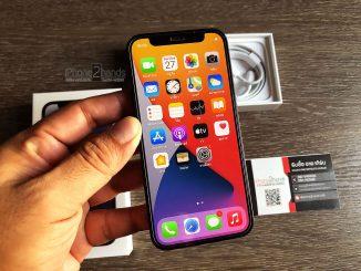 ขาย iPhone 12 Mini สีดำ 256gb ประกันยาวๆ พฤศจิ 64 ราคาถูก