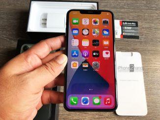 ขาย iPhone 11 Pro Max สีเขียว 256gb ศูนย์ไทย มือสอง ราคาถูก