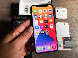 ขาย iPhone 11 Pro สีเขียว 512gb ศูนย์ไทย มือสอง ราคาถูก