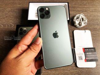 ขาย iPhone 11 Pro Max สีเขียว 64gb ศูนย์ไทย มือสอง ราคาถูก