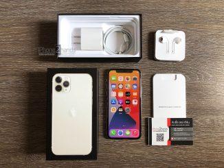 ขาย iPhone 11 Pro สี Silver 256gb ศูนย์ไทย มือสอง ราคาถูก