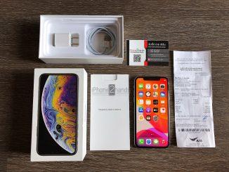 ขาย iPhone XS สี Silver 64gb ศูนย์ไทย มือสอง ราคาถูก