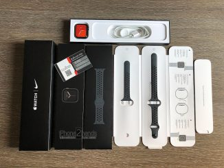 ขาย Apple Watch SE Nike สีดำ 44MM ประกันยาวๆ ตุลาคม 64