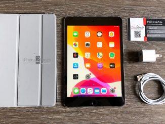 ขาย iPad Mini 4 สีดำ 128gb Cellular Wifi ศูนย์ไ่ทย มือสอง ราคาถูก