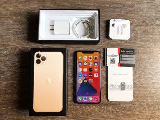 ขาย iPhone 11 Pro Max สีทอง 256gb ศูนย์ไทย มือสอง ราคาถูก