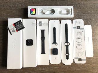ขาย Apple Watch S5 สีดำ 40MM GPS ประกันยาวๆ 20 พฤษภาคม 64