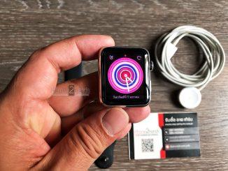 ขาย Apple Watch S1 ตัวแพงแสตนเลส สีดำ 42MM มือสอง ราคาถูก