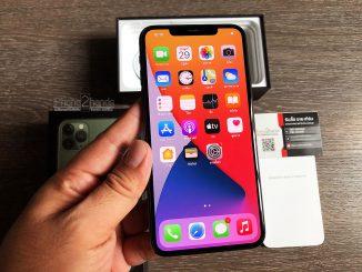 ขาย iPhone 11 Pro Max สีเขียว 256gb มือสอง ราคาถูก
