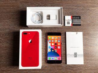 ขาย iPhone 8 Plus สีแดง 64gb เครื่องศูนย์ไทย มือสอง ราคาถูก