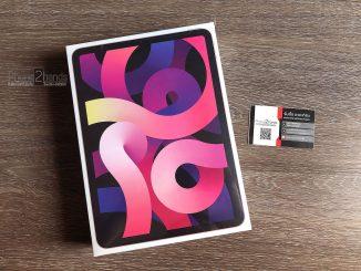 ขาย iPad Air 4 สี Rose Gold มือ 1 ประกัน 1 ปี ยังไม่แกะกล่อง ราคาถูก