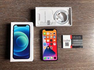 ขาย iPhone 12 Mini สีน้ำเงิน 128gb มือสอง ราคาถูก ประกันยาวๆ 29 มกราคม 65