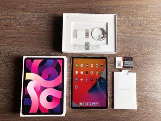 ขาย iPad Air 4 สีชมพู 64gb Wifi ประกันยาวๆ 29 มกราคม 65 ปีหน้า ราคาถูก