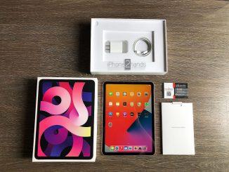 ขาย iPad Air 4 สีชมพู 256gb Wifi ศูนย์ไทย ประกันยาวๆ 10 เดือน ราคาถูก