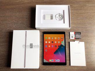 ขาย iPad Gen 8 สีดำ 32gb Wifi ศูนย์ไทย มือสอง ประกันเหลือ ราคาถูก