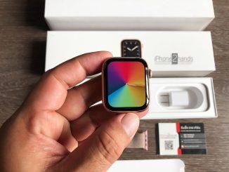 ขาย Apple Watch S5 สีชมพู 44MM GPS ศูนย์ไทย มือสอง ราคาถูก