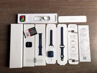 ขาย Apple Watch S6 สีน้ำเงิน 44MM Cel GPS ประกันยาวๆ พฤศจิกายน 64 พร้อมเใบเสร็จ