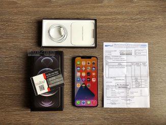iPhone 12 Pro Max สีดำ 128gb ศูนย์ไทย ประกันยาวๆ มกรา 65 ปีหน้า พร้อมใบเสร็จ