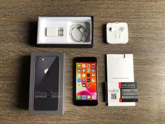 ขาย iPhone 8 สีดำ 64gb ศูนย์ไทย มือสอง ราคาถูก สภาพนางฟ้าใหม่มากๆ