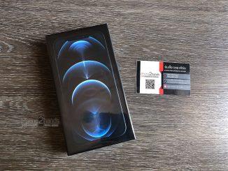 ขาย iPhone 12 Pro Max สี Pacific Blue 256gb ศูนย์ไทย มือ 1 ยังไม่แกะซีล ราคาถูก