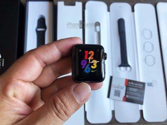 ขาย Apple Watch S3 38MM Nike สีดำ เครื่องศูนย์ iStudio อุปกรณ์ครบกล่อง