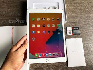 ขาย iPad Gen 8 สีทอง 32gb Wifi ศูนย์ไทย สภาพมือ 1 ประกันเหลือ ราคาถูก