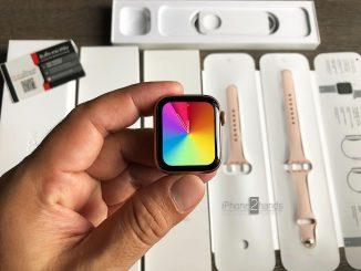 ขาย Apple Watch S6 40MM GPS สีชมพู ศูนย์ไทย ประกันยาวๆ ราคาถูก