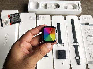 ขาย Apple Watch S5 สีดำ 44MM GPS เครื่องศูนย์ไทย มือสอง ราคาถูก สภาพนางฟ้า
