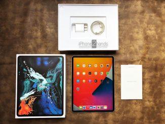 iPad Pro 12.9 Gen 3 สี Silver 64gb Wifi ศูนย์ไทย มือสอง ครบกล่อง ราคาถูก