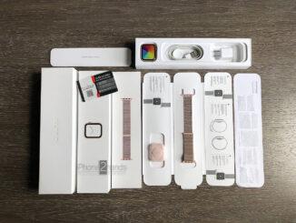 Apple Watch Series 4 สีทอง 44MM GPS มือสอง ราคาถูก