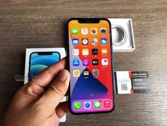 iPhone 12 สี Pacific Blue 64gb ศูนย์ไทย ประกันยาวๆ มกราคม 65 ปีหน้า