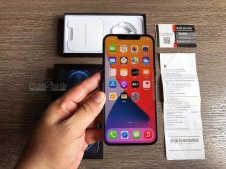 iPhone 12 Pro Max สี Pacific Blue 256gb ศูนย์ไทย มือสอง ราคาถูก พร้อมใบเสร็จ